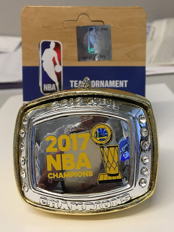 Golden State Warriors 2017 Nba Championship Ring Ornament