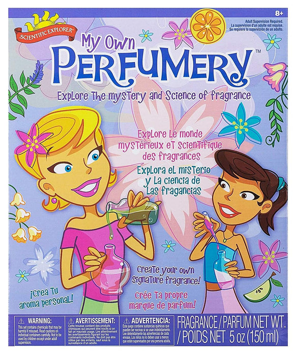 Scientific Explorer Perfumery Science Kit Easy To Make Delightful Fragrances For Yourself And Your Friends Recommended For Children 8-Years Of Age And Older With Adult Supervision