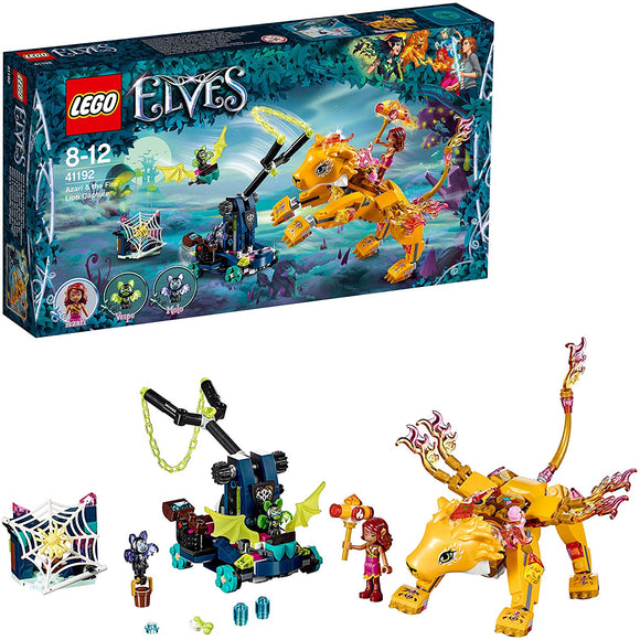 Lego Elves 41192 Azari And The Trap For The Fire