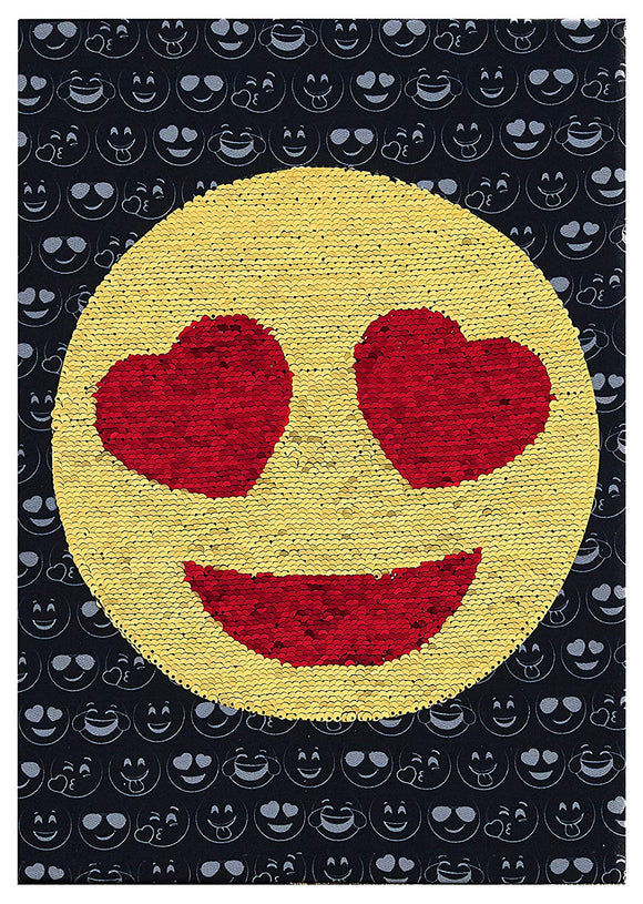 Emoji Pals Emoji Sequin Wall Art