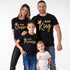 Print Pattern Family Matching Cotton T-Shirt