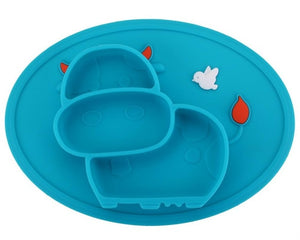 Cow Styling Baby Feeding Silicone Bowl - BabyCenter