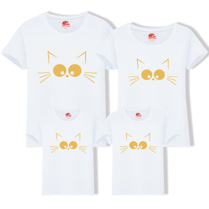 Cat Print Family Look Matching T-Shirts - BabyCenter