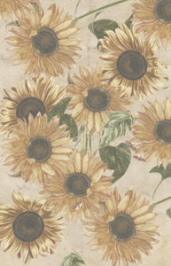 Vintage Sunflowers Decoupage Sheets
