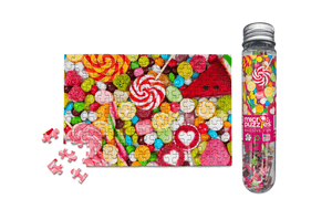 Candy MicroPuzzle - Mini Jigsaw Puzzle
