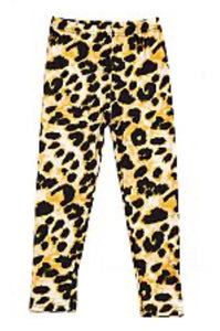 Kids Prim Stylish Leopard Brushed Printed Leggings