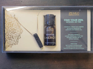 Zengo Aromatherapy Jewelry and Oil Sets - Energy
