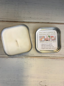 2-In-1 Candle and Anti-Aging Lotion for Your Skin - Grace on Broadway