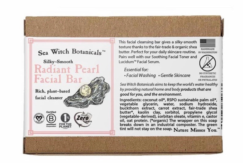 Sea Witch Botanicals Radiant Pearl Facial Soap