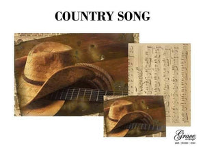 PREORDER - Country Song Decoupage Pack - scheduled to arrive 1/2/21