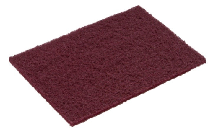 Surf Prep 320 Grit Maroon Very Fine Non-Woven Pads
