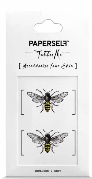 Bee Temporary Tattoo Stickers