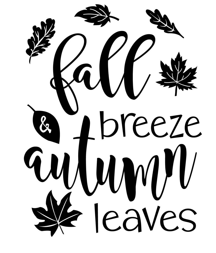 Fall Breeze - Magnolia Design Company Silkscreen Stencil