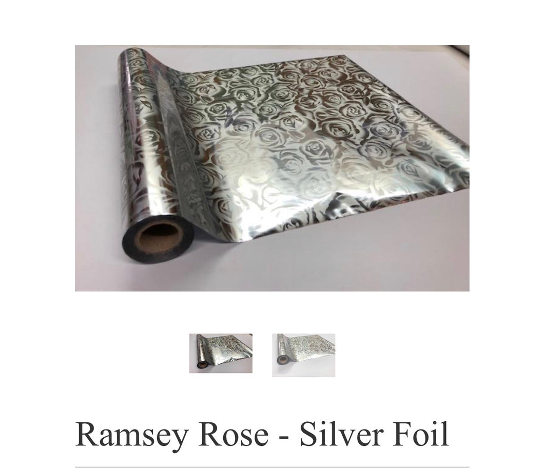 Ramsey Rose Silver Foil
