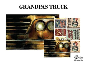 PREORDER - Grandpa's Truck Decoupage Pack - scheduled to arrive 1/2/21