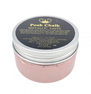 Posh Chalk Metallic Paste - Rose Gold