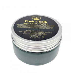 Posh Chalk Metallic Paste - Dark Green