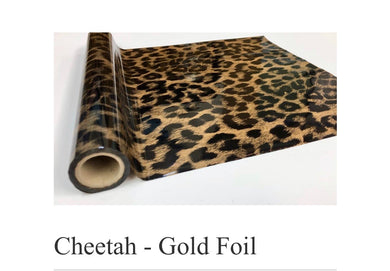 Cheetah Gold Foil