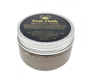 Posh Chalk Metallic Paste - Brown Van Dyke