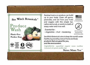 Sea Witch Botanicals Produce Wash Soap