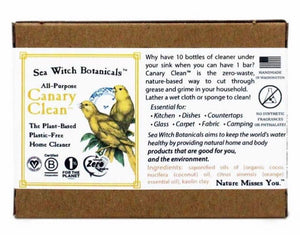 Sea Witch Botanicals Canary Clean Soap