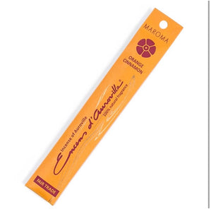 Maroma Incense Sticks - Orange Cinnamon