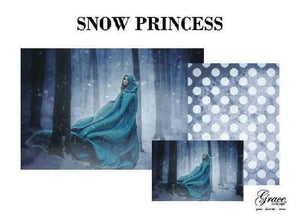 PREORDER - Snow Princess Decoupage Pack- scheduled to arrive 1/2/21