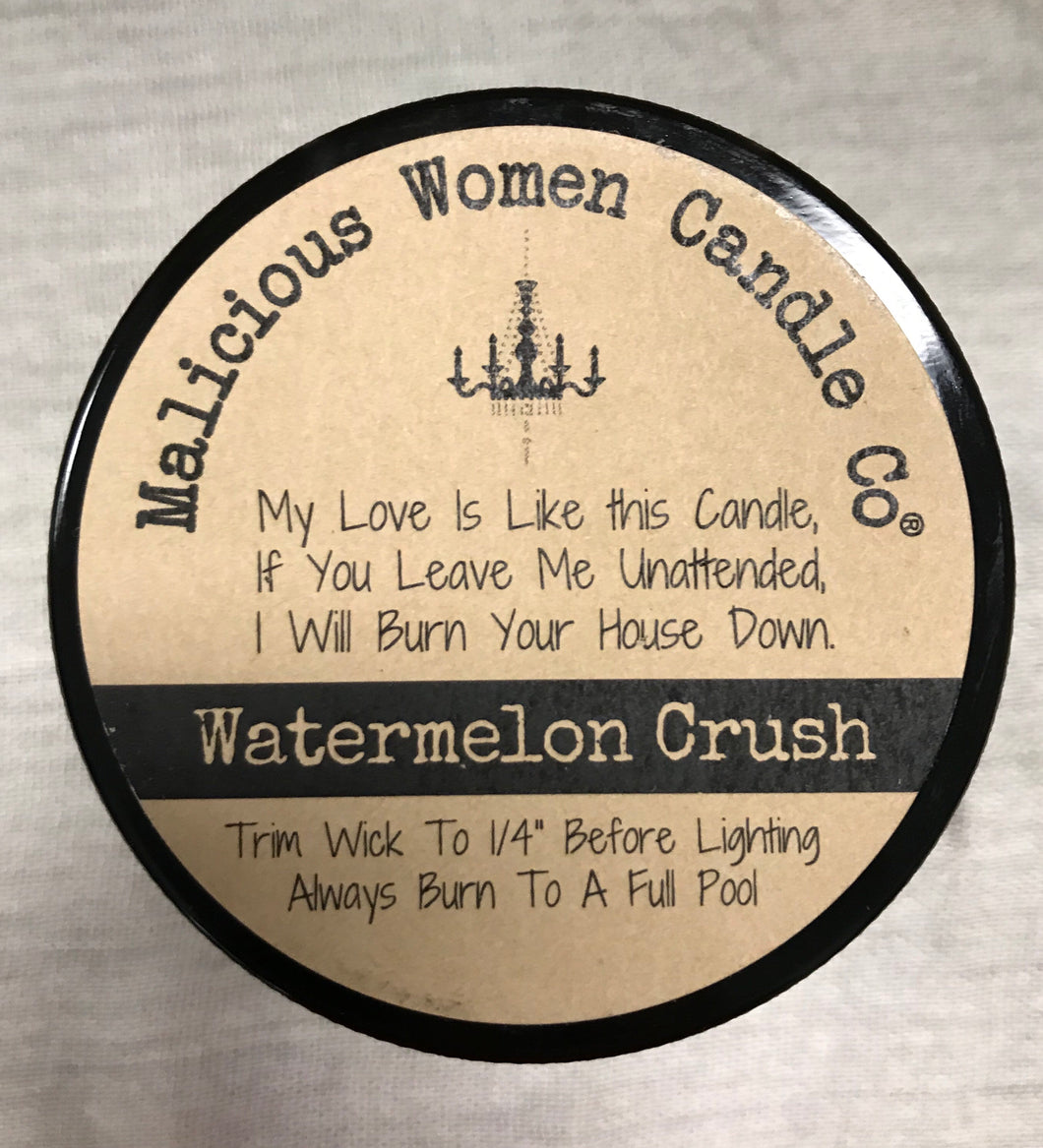 Watermelon Crush Candle: I don't run, I'm a MotherF'n mermaid. - Grace on Broadway