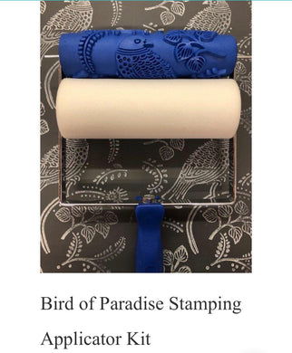 Bird of Paradise Stamping Applicator Kit