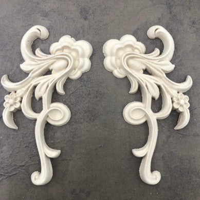 WoodUBend1388-9 - Decorative Pair