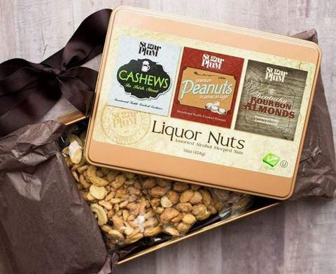 Liquor Nuts Tin Gift Set