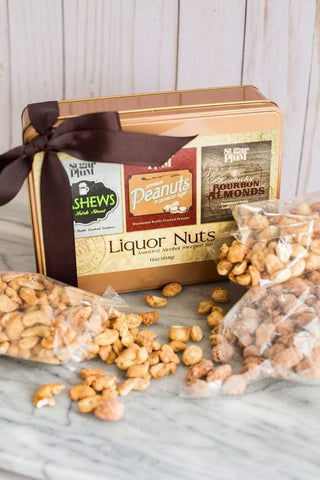 Liquor Nuts Tin Gift Set-2