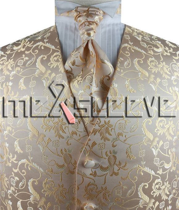 Champagne Vest | Cream Vest | Mens Vest | Boys Vest | Childs Vest | Vest | Wedding Vest | Formal Vest