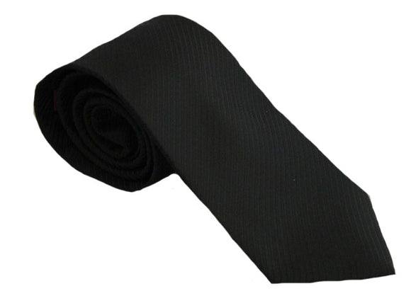 Black Twill Tie Brisbane | Black Twill Tie Melbourne | Black Striped Tie Tasmania