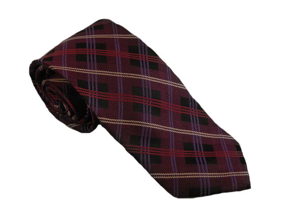 Purple Check Tie Australia | Purple Tie Australia | Purple Necktie Australia