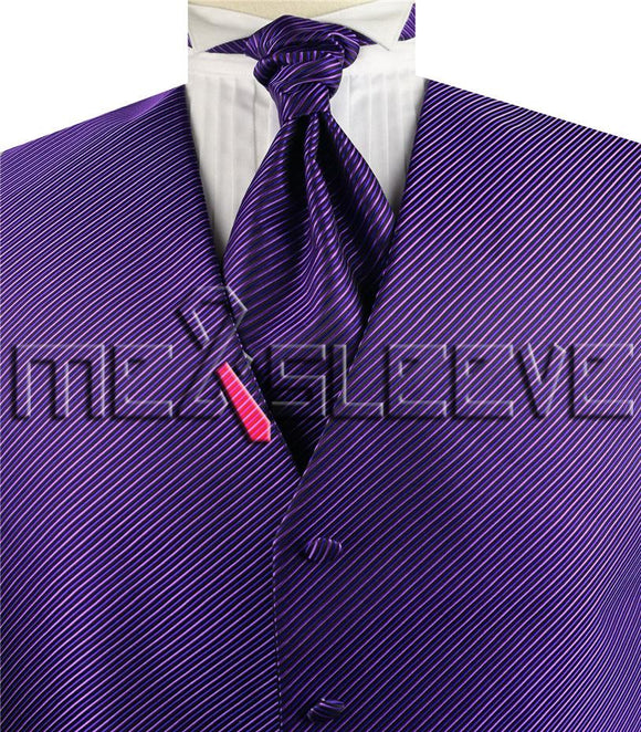 Purple Vest | Mens Vest | Boys Vest | Childs Vest | Formal Vest | Wedding Vest | Mens Waistcoat | Boys Waistcoat | Childs Waistcoat