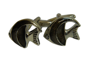 Black Cufflinks | Fish Cufflinks | Animal Cufflinks | Cufflinks