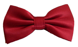Red Bowtie | Red Bow Tie | Red Pre-Tied Bowtie