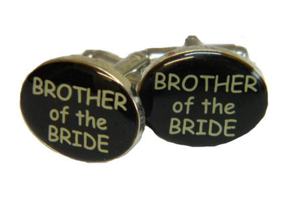 Wedding Cufflinks | Brother of the Bride Cufflinks