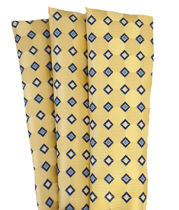Yellow Hankie | Yellow Pocket Square | Patterned Hankie | Patterned Pocket Square | Patterned Hanky