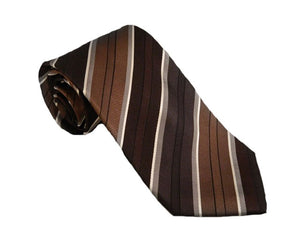 Black Striped Tie Australia | Black Striped Necktie Australia | Silk Neckties Australia