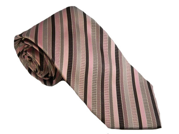 Striped Pink Tie Australia | Pink Striped Tie Australia