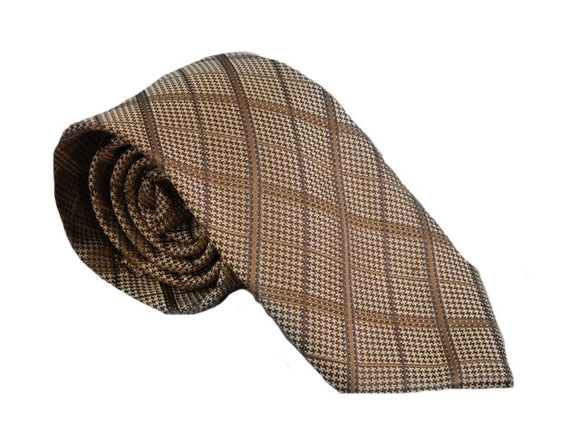 Bronze Necktie | Bronze Tie | Brown Necktie