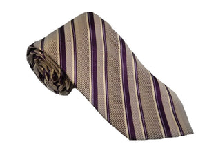 Striped Purple Tie Australia | Purple Striped Tie Australia