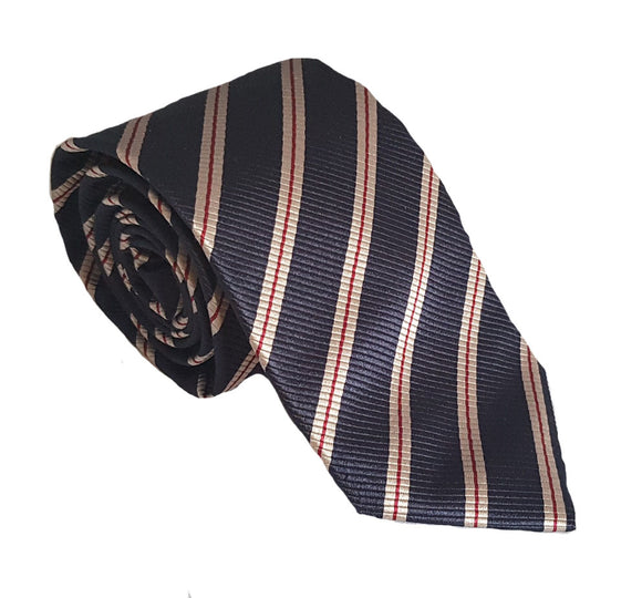 Navy Striped Tie Australia | Striped Navy Tie Australia