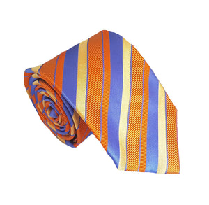 Orange Striped Tie Australia | Orange Business Ties Australia | Orange Neckties Australia