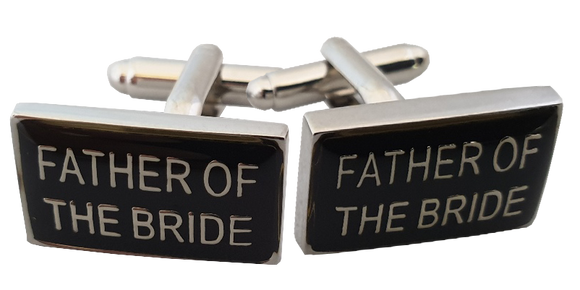 Wedding Cufflinks | Father of the Bride