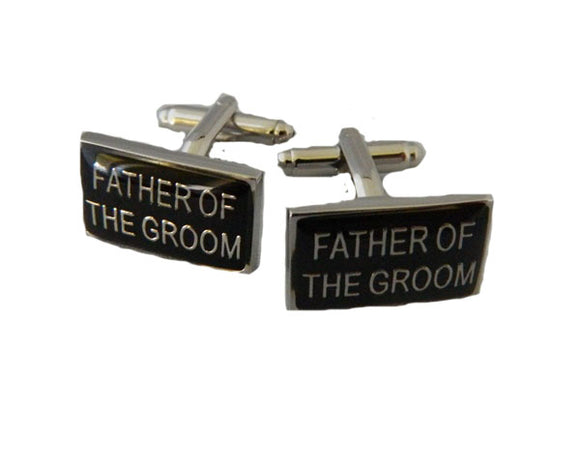 Wedding Cufflinks | Father of the Groom Cufflinks