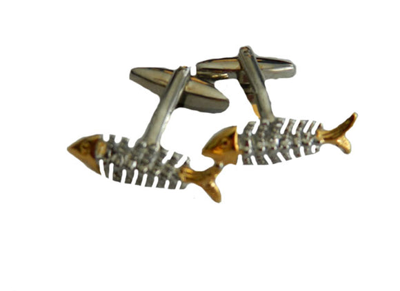 Fish Cufflinks | Fishing Cufflinks | Fisherman Cufflinks | Animal Cufflinks