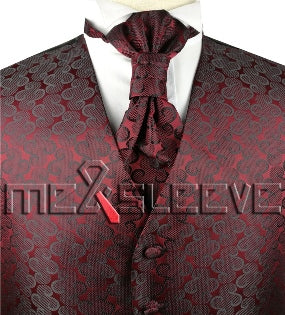 Burgundy Vest | Mens Vest | Mens Waiscoat | Boys Vest | Boys Waistcoat | Mens Wedding | Formal Vest | Formally Men | Brisbane